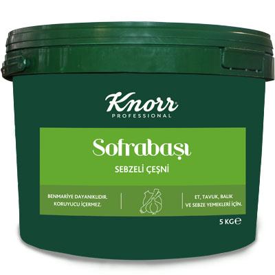 Knorr Sofrabaşı Sebzeli Çeşni 5 kg - Bütçe Dostu Pratik Lezzet