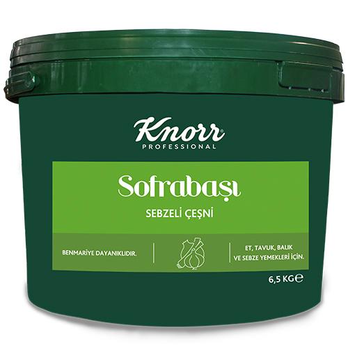 Knorr Sofrabaşı Sebzeli Çeşni 6.5 Kg - Profesyonel Mutfaklara Bütçe Dostu Çözümler