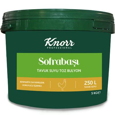 Knorr Sofrabaşı Tavuk Suyu Bulyon 5 kg