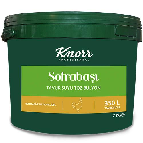 Knorr Sofrabaşı Tavuk Suyu Toz Bulyon 7 Kg - Profesyonel Mutfakların Bütçe Dostu Çözümleri