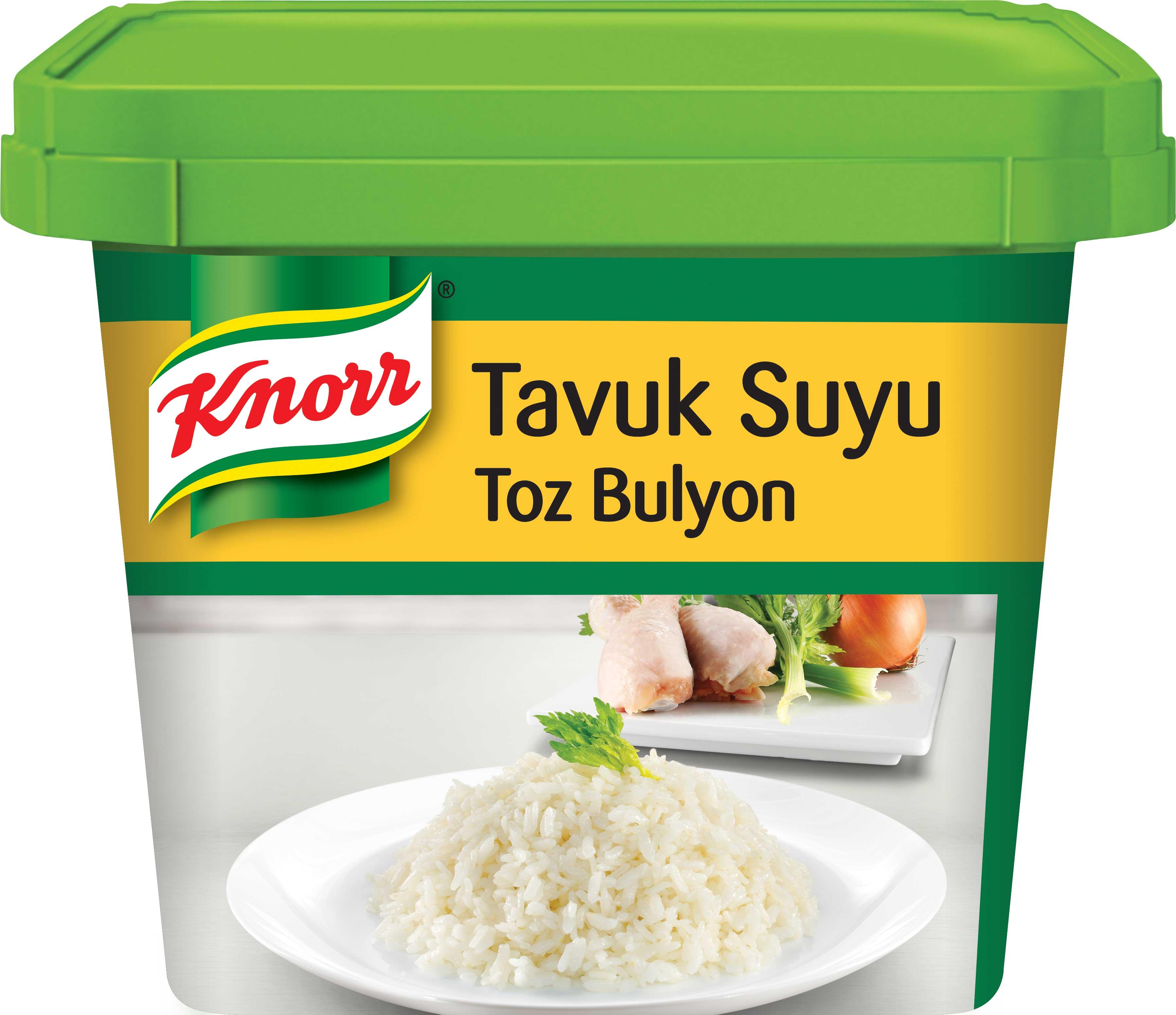 Knorr Tavuk Suyu Toz Bulyon 750 g - Eşsiz lezzeti ve kalitesi ile şeflerin yıllardır değişmeyen tercihi, Knorr Bulyon.