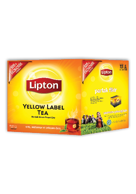Lipton Yellow Label 1000'li Bardak Poşet Çay (2 x 1000 g) - Lipton ile, yabancı misafirlerinizin memnuniyetini artırın.
