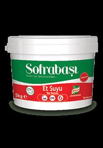 Sofrabaşı Et Suyu Bulyon 5 kg - Knorr'un üreticisinden Sofrabaşı Bulyon. Lezzetli yemekler için bütçe dostu yardımcınız.