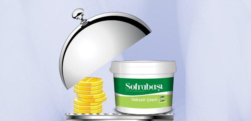 Sofrabaşı Sebzeli Çeşni 5 kg - Yeni Sofrabaşı Sebzeli Çeşni, yemeklerinizi lezzetlendirmede bütçe dostu yardımcınız.