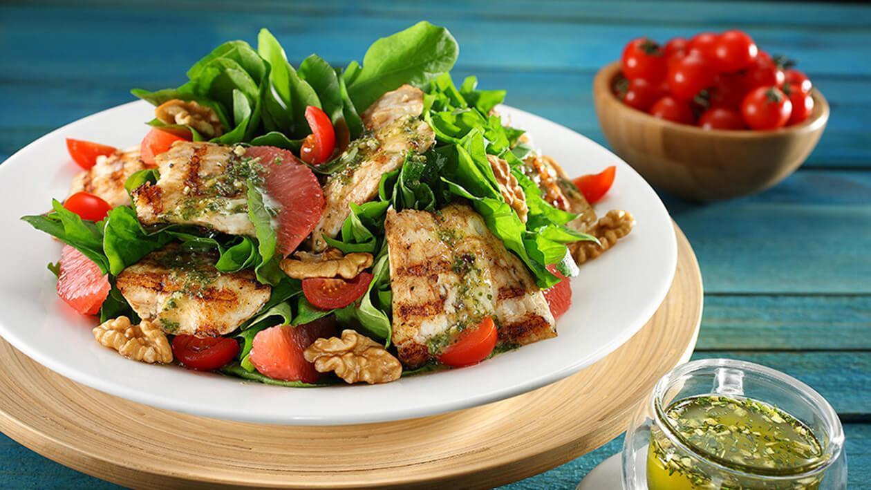 Balıklı Roka Salatası