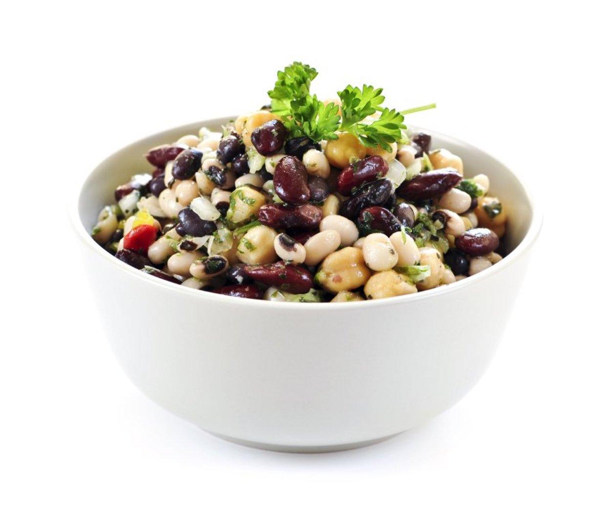 Nar Ekşili Fasulye Salatası