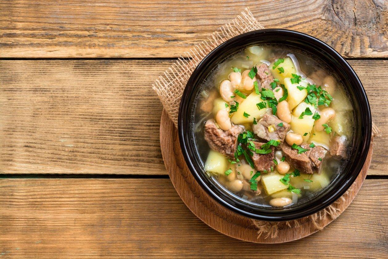Pırasa Güveç, Patates Ve Fasulye İle