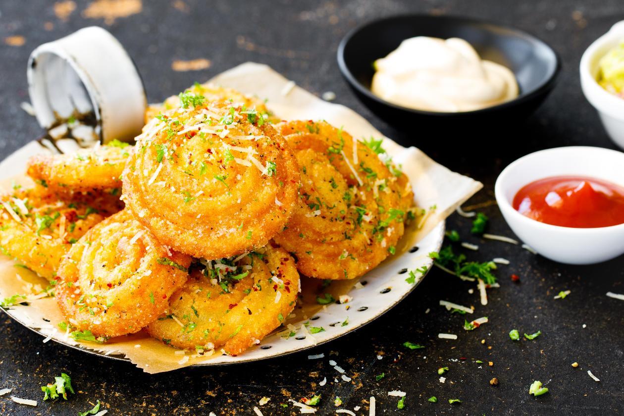 Spiral Patates Kızartma