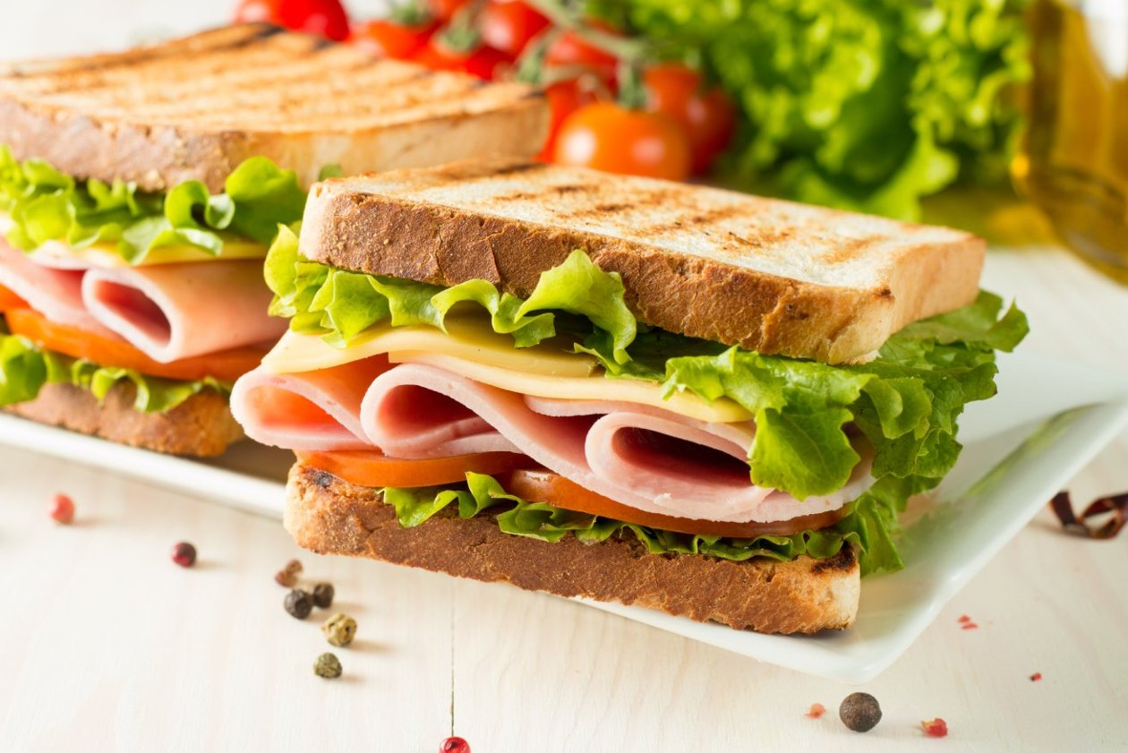 Tavuk Füme Sandviç