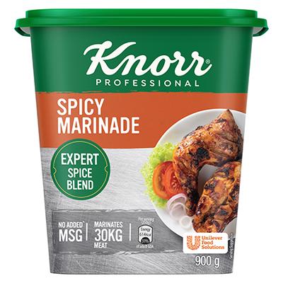 کنور پروفیشنل اسپائسی میرینیڈ (6X900g) - کنور پروفیشنل اسپائسی میرینیڈ مصالحوں کی پرفیکٹ مقدار سے بنا ہے جو اۤپ کے کھانوں کو ہمیشہ ایک جیسا ذائقہ دیتا ہے۔