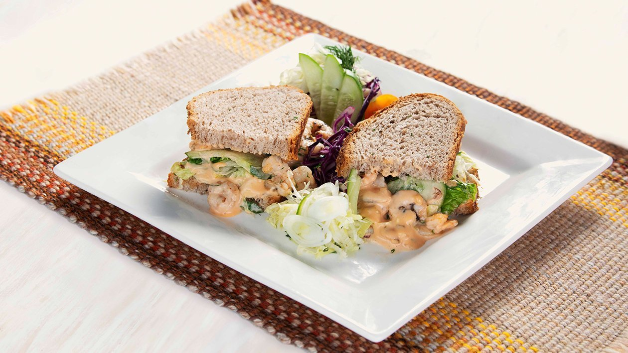 پران کاک ٹیل سینڈوچ