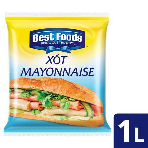 Best Foods Xôt Mayonnaise Cho Bánh Mì 1L -
