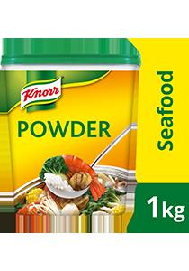 Knorr Bột Nêm Hải Sản 1.5kg - Knorr Bột Nêm Hải Sản được làm từ hải sản thật giúp món ăn của bạn đậm đà hương vị hải sản