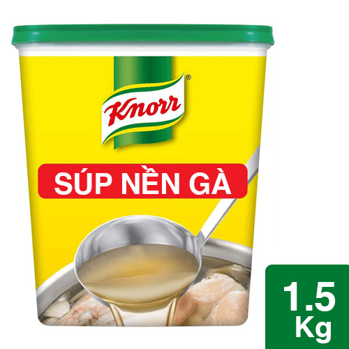 Knorr Súp Nền Thịt Gà 1.5kg