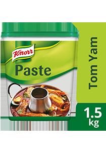Knorr Súp Nền Tom Yam 1.5 kg - Knorr Súp Nền Lầu Thái mang đến hương vị Thái đặc trứng từ lá chanh Kaffir