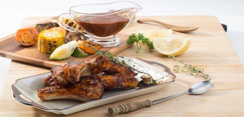 Knorr Xốt Nướng Khói Hickory BBQ 1kg - Hương vị xông khói đặc trưng vùng Nam Mỹ