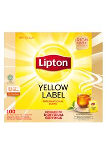 Lipton Trà Nhãn Vàng có bao giấy 100X2g