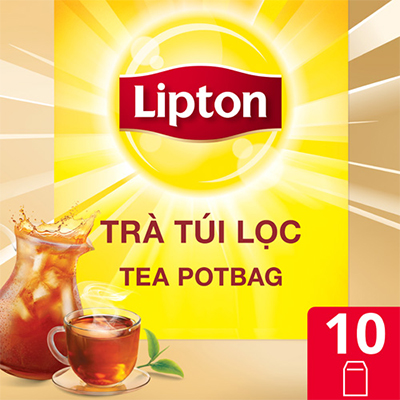 Lipton Trà Túi Lọc Tea Potbag 10x12g - Giúp nhà hàng, khách sạn, café chủ động nâng cao chất lượng dịch vụ