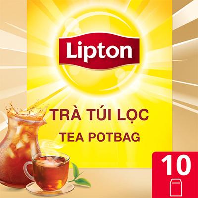 Lipton Trà Túi Lọc Tea Potbag Dành Cho Horeca 10x12g - Giúp nhà hàng, khách sạn, café chủ động nâng cao chất lượng dịch vụ
