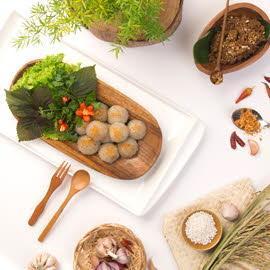 Thịt heo viên kiểu Thái