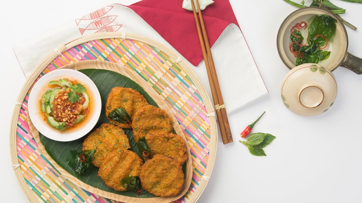 Bánh cá chiên kiểu Thái