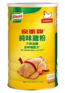 家樂牌純味雞粉 - 不添加味精﹑鹽 -