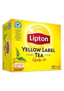 立頓黃牌茶包120片 -