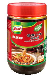 家樂牌香辣八味豉椒醬 - 家樂牌香辣八味豉椒醬,給菜餚豐富,多層次的香辣風味。