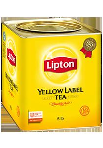 立頓黃罐茶葉5磅裝