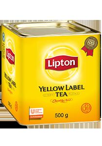 立頓黃罐茶葉500克裝