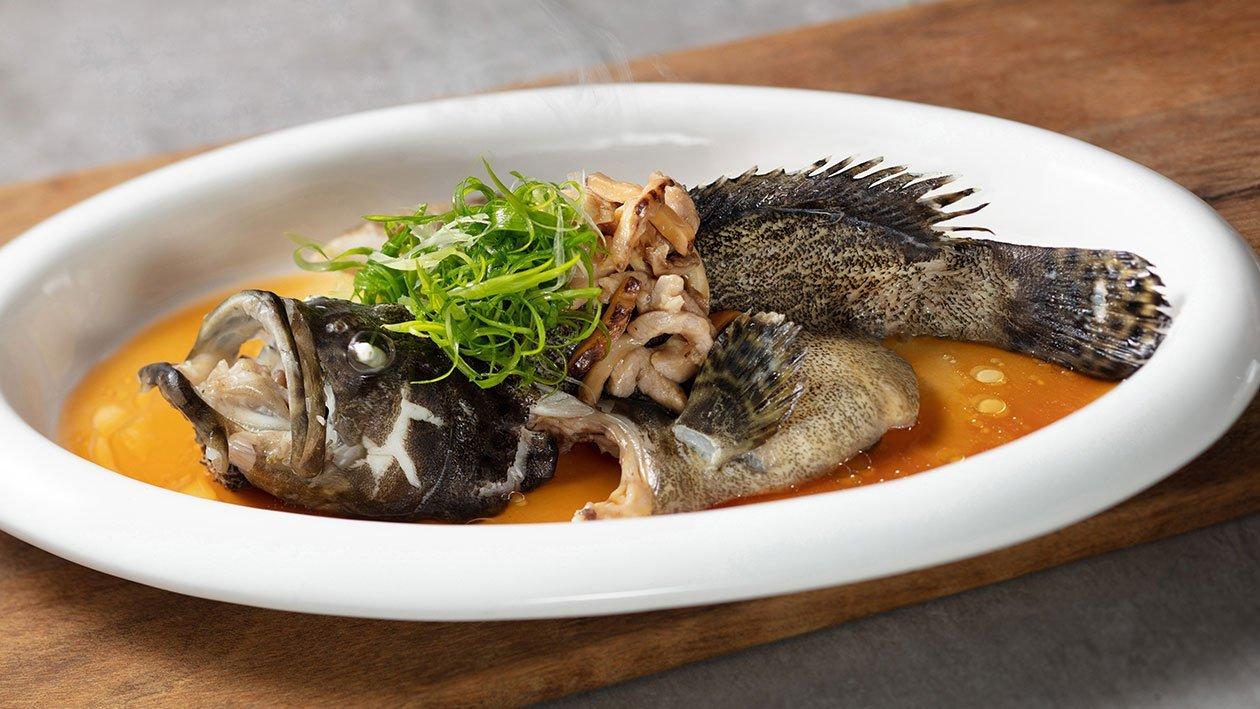 古法雙蠔蠔汁蒸魚 – 食譜詳情