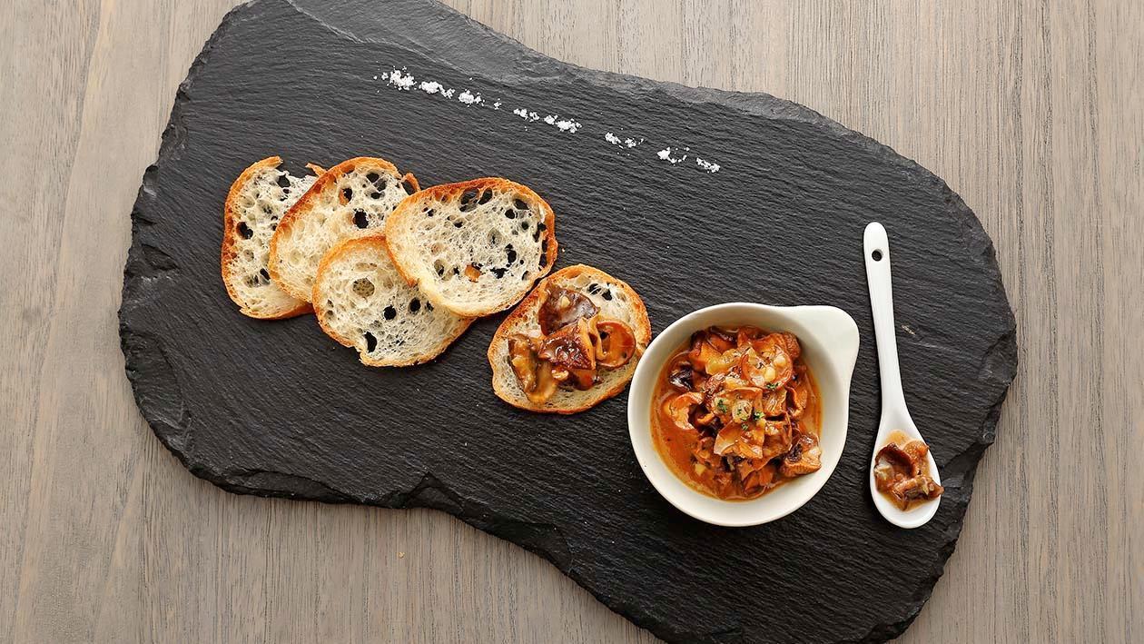意大利風味野菇伴多士 – 食譜詳情