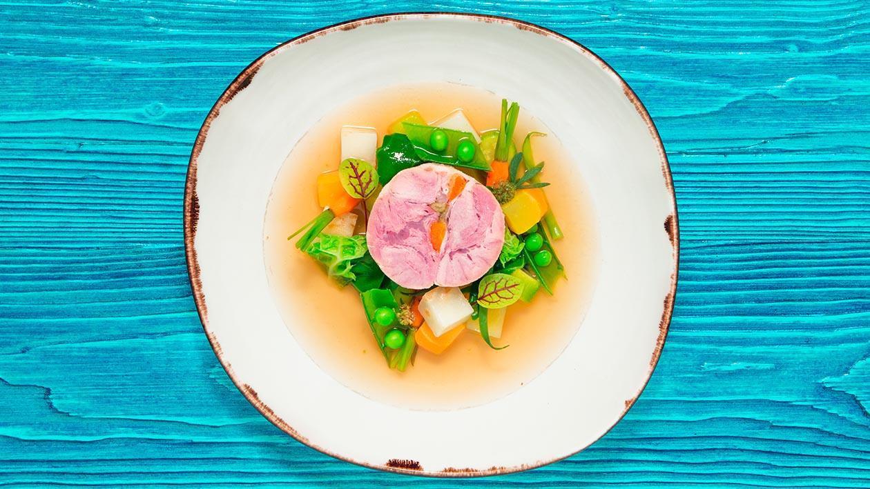 慢煮伊比利梅花豬-丁香與大茴香及無菁風味  – 食譜詳情