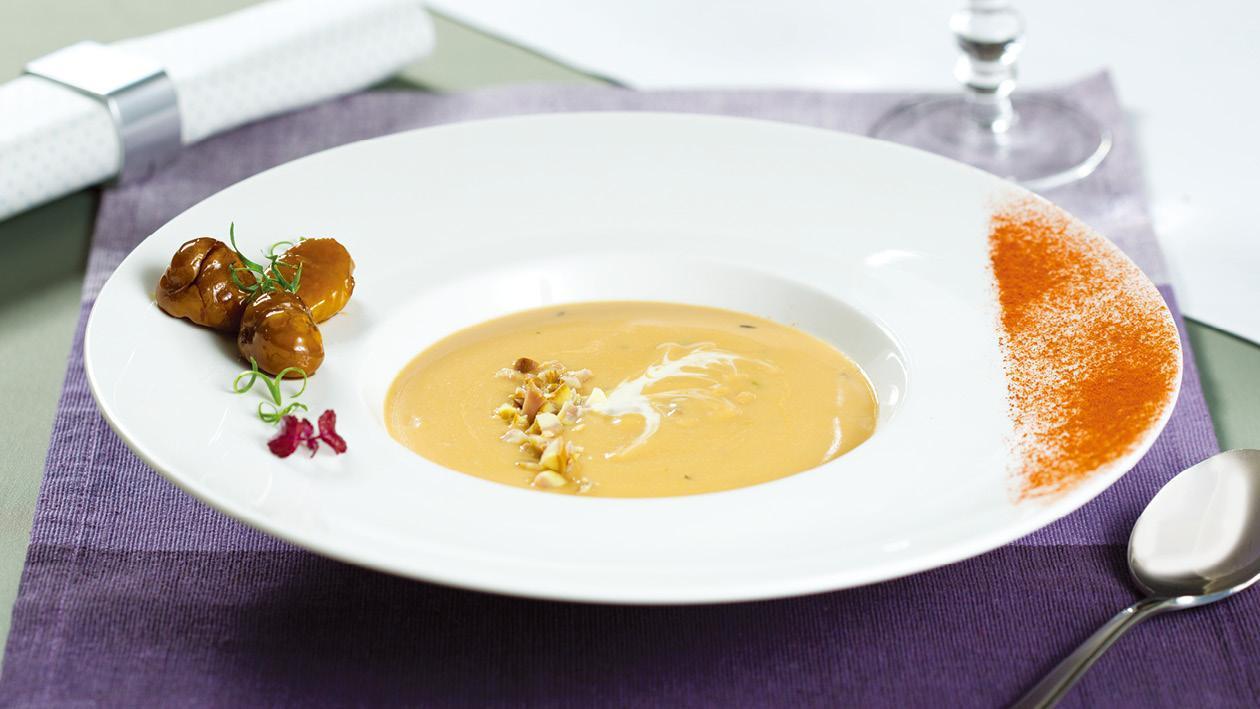 栗子牛肝菌湯 – 食譜詳情