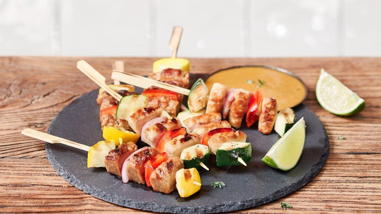 植系牛肉.雞肉串燒 – 食譜詳情