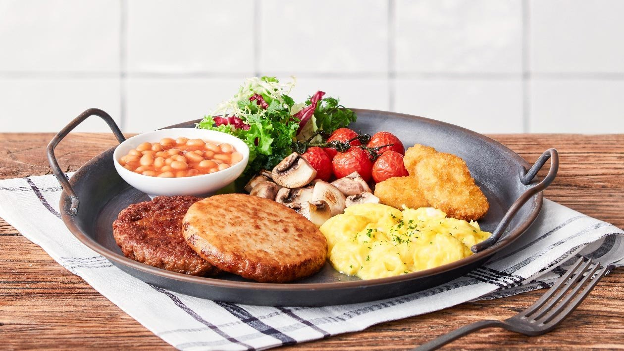 植系肉早餐 – 食譜詳情