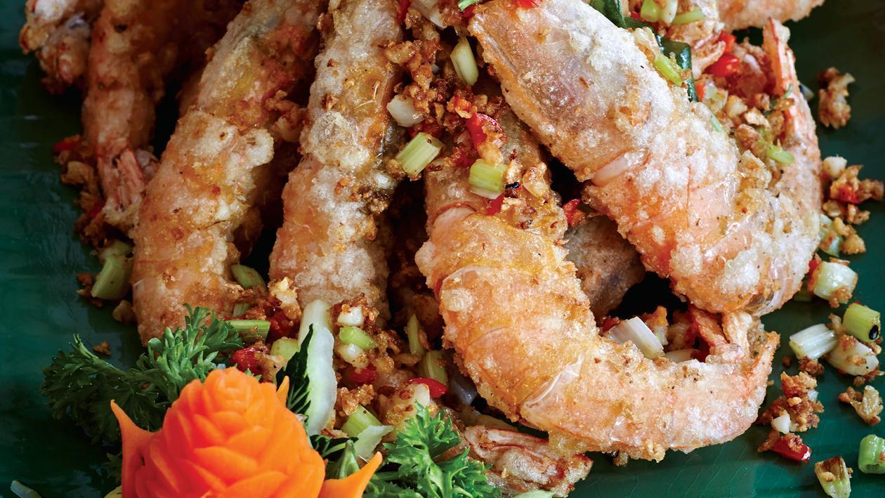 椒鹽蝦 – 食譜詳情