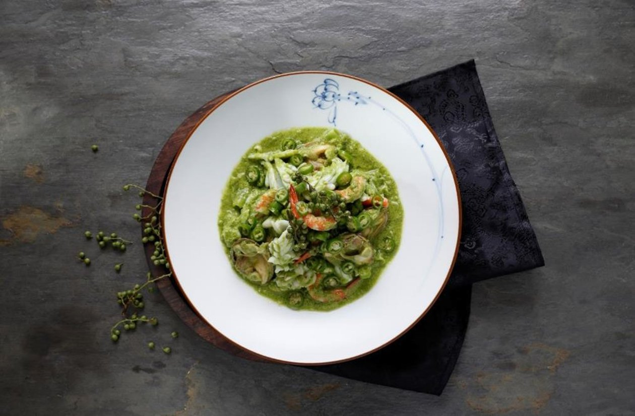 椒麻青醬海鮮匯 (味型:椒麻味) – 食譜詳情