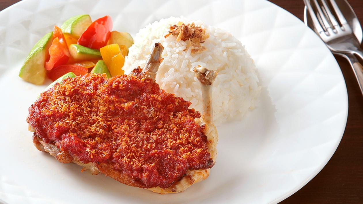 椰香蕃茄烤春雞 (非洲雞) – 食譜詳情