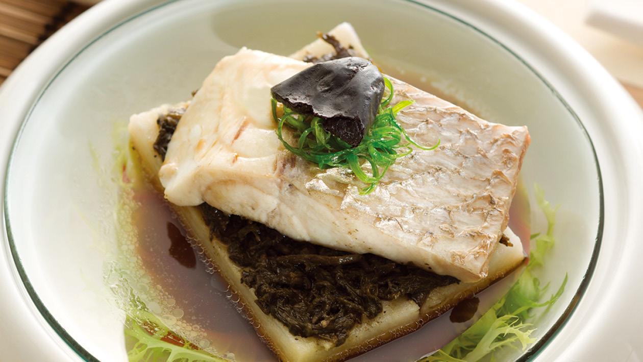 欖菜蒸海魚 – 食譜詳情