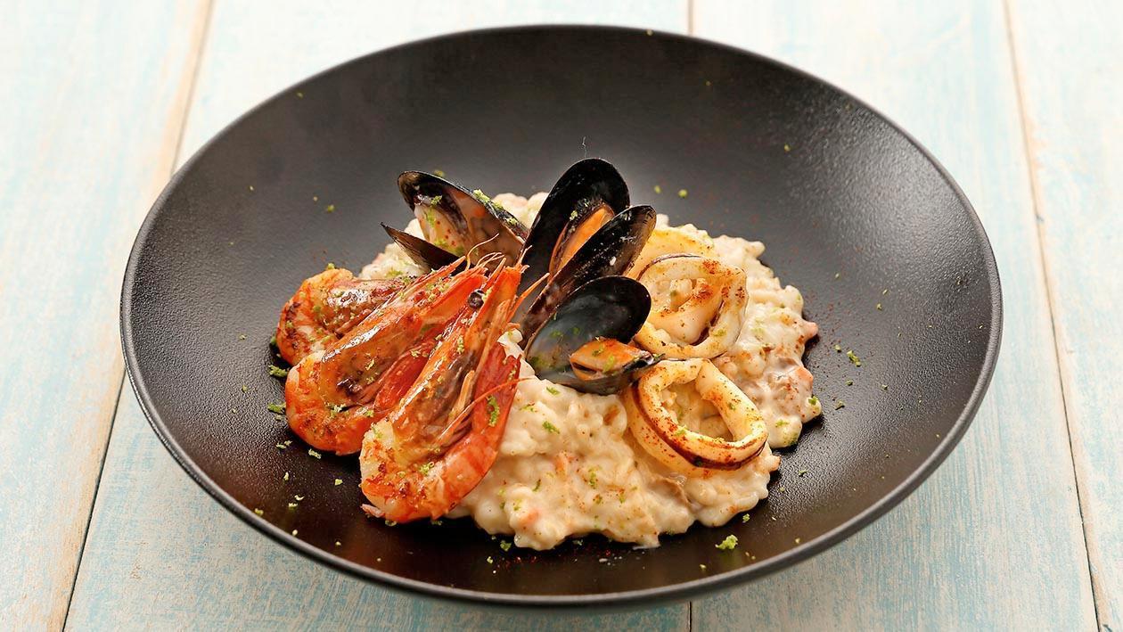 海鮮意大利燴飯 – 食譜詳情