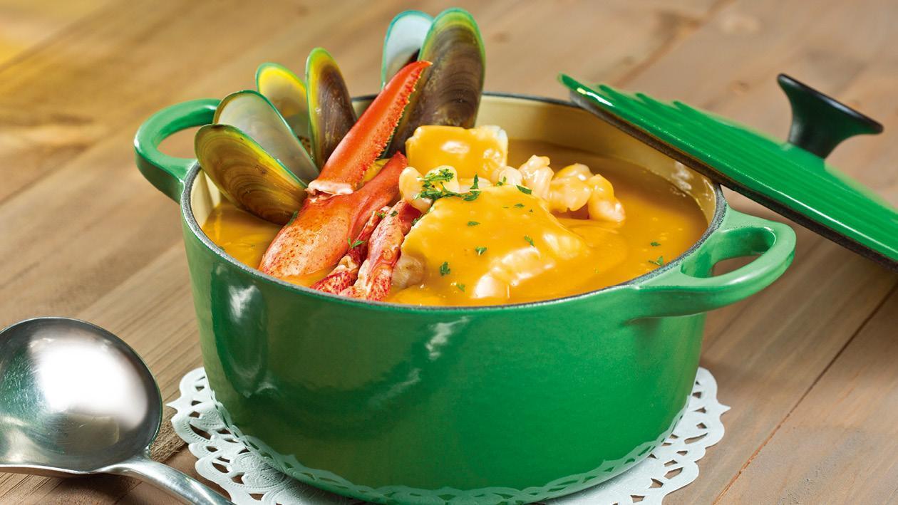 海鮮濃湯 – 食譜詳情