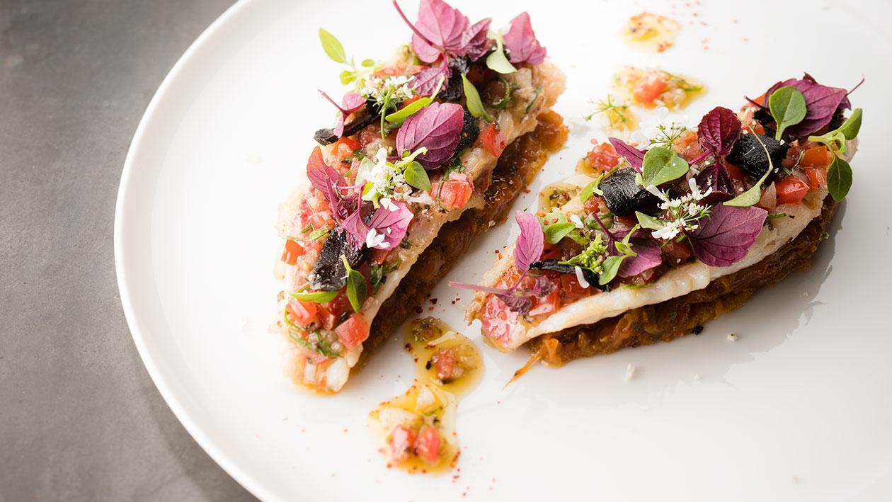 煎紅魚配香草蕃茄汁 – 食譜詳情