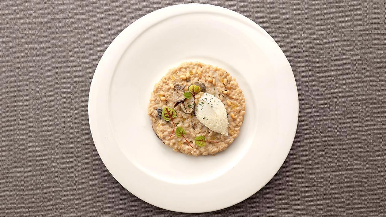 牛肝野菌汁燴意大利飯 – 食譜詳情