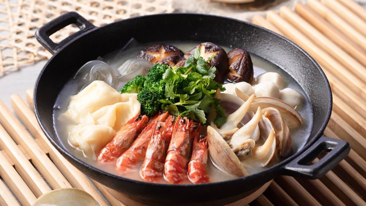 瑤柱海鮮鍋 – 食譜詳情