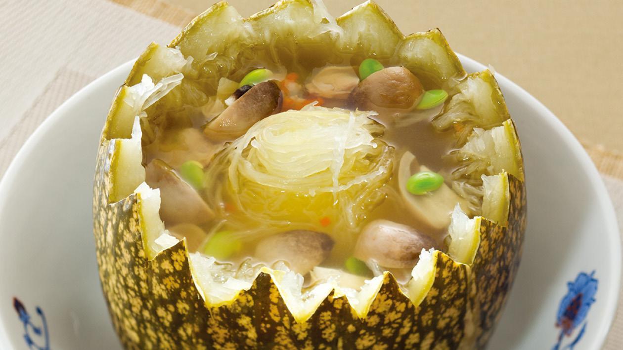 網瓜雜菜蝦仁湯 – 食譜詳情