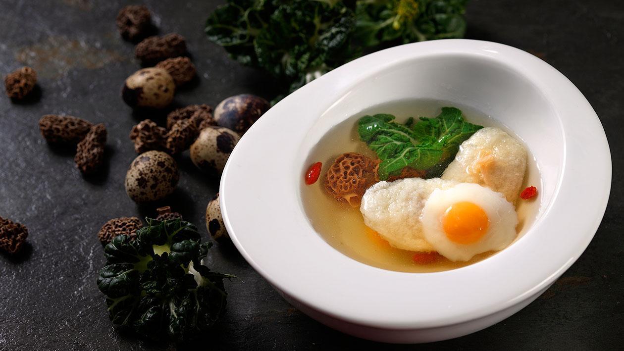 羊肚菌清燉雞浮 – 食譜詳情