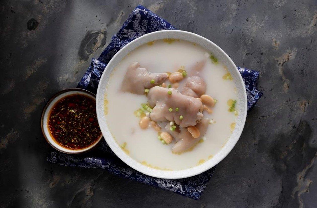 老媽蹄花 (味型:鹹鮮味搭配醬香麻辣味碟) – 食譜詳情
