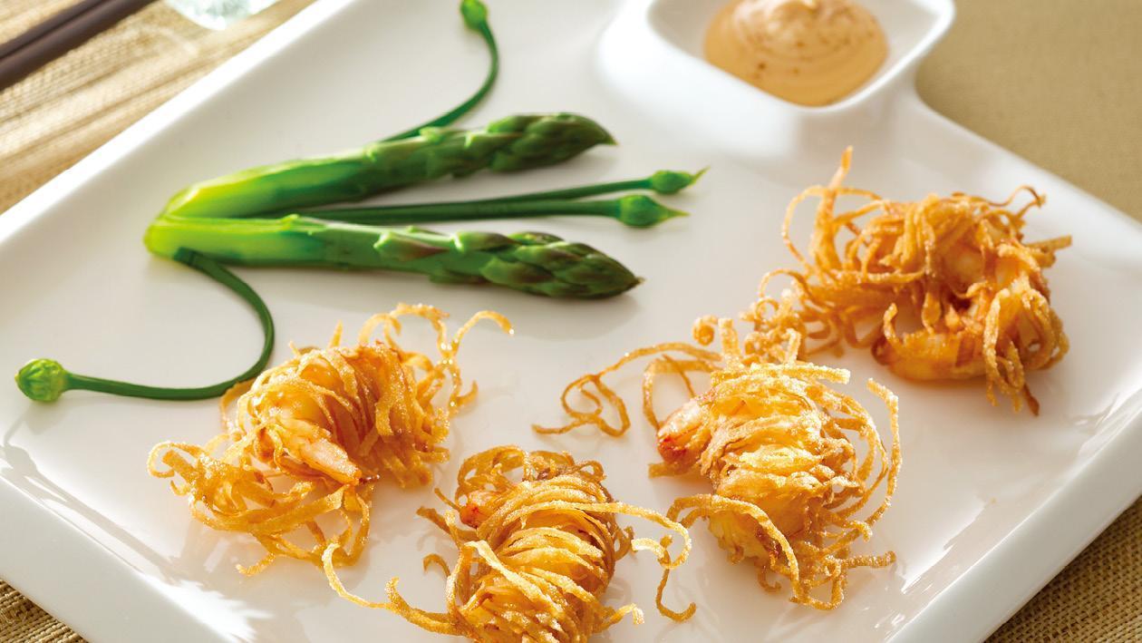 脆炸蝦球龍蝦沙律醬 – 食譜詳情