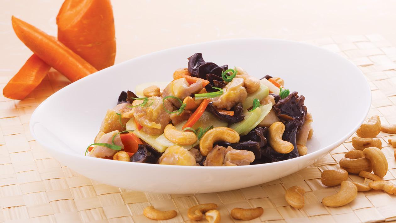 腰果芥蘭頭炒雞丁 – 食譜詳情